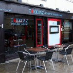 Re-design of frontage for Turkuaz Restaurant, Newmarket