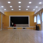 Refurbished Hall Almost Completed inside King Edward VII Memorial Hall