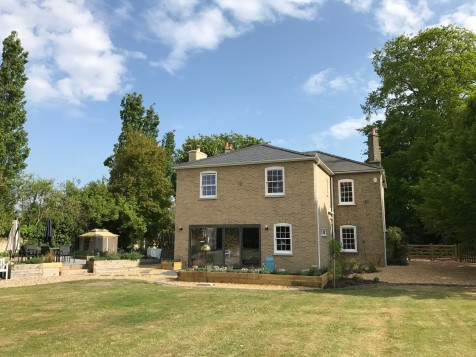 Grade II listed home extension