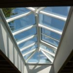 High thermal performance double glazed roof lantern