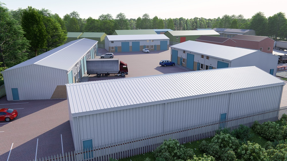 Industrial Project - 15 Industrial Units, Burwell